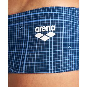 arena Printed Checks Briefs Men, niebieski